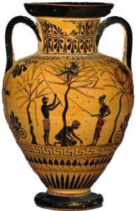 olijfolie amfoor oudheid